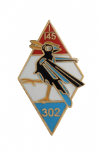 No. 302 (City of Poznan) Polish Fighter Squadron Royal Air Force RAF Pin Badge